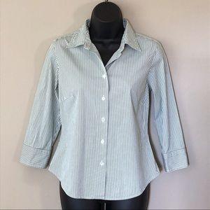 ⚡️3/$30  J. Crew Striped Button Down Shirt